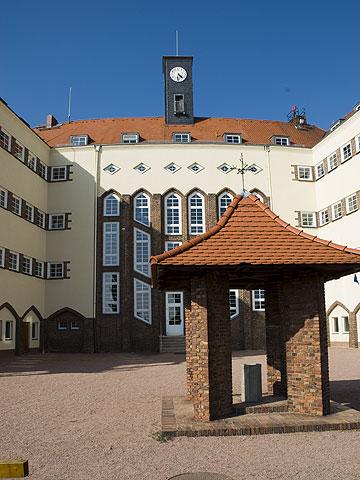 Innenhof der Rabenauer Schule