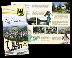 Informationsflyer der Stadt Rabenau