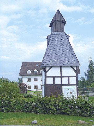 Altes Trafohäuschen in Karsdorf