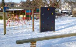 Spielplatz im Kindergarten Oelsa
