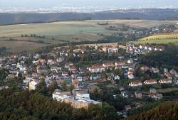 Luftaufnahme von Rabenau