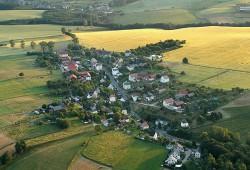 Luftaufnahme des Ortsteil Spechtritz