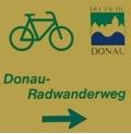 Schild Donauradweg