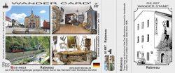 Wandercard der Stadt Rabenau mit Stuhlbaumuseum